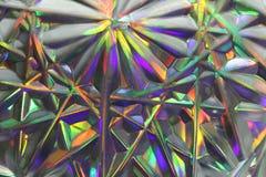 Surrealism suddig abstrakt bakgrund för regnbåge Purpurfärgat grönt, arkivbild