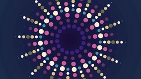 Surrealistic abstract background. Abstract kaleidoscope pattern for design.  vector illustration