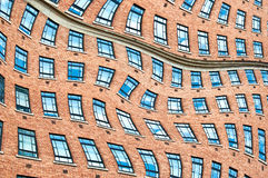 Surrealistic windows. Stock Photography