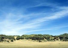 Surrealistisch landschap Royalty-vrije Stock Afbeelding