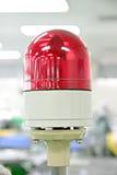 Surrealistische sirenes die worden gebruikt om incidenten te alarmeren. Stock Fotografie