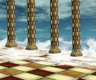 surrealistyczna tło woda ilustracji