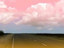 surrealistyczne krajobrazu Obraz Royalty Free
