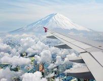 surrealistyczny Fuji widok mt Obrazy Royalty Free