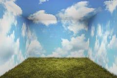 Surrealistyczny pokój Obraz Stock