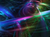 Surreality vibrante visual del fractal de la demostración del caos del partido de la vuelta del sueño artístico creativo abstract stock de ilustración