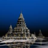 SurrealPagoda Royalty Free Stock Photography