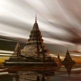 SurrealPagoda Royalty Free Stock Photo