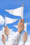 Surrender. Concept image of Surrender idea Stock Photo