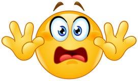 Surrender emoticon Royalty Free Stock Image