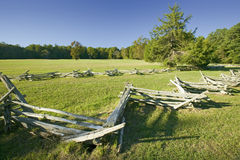 Surrender Field, where Lord Cornwallis surrendered to General George Washington ending the American Revolution, the actual surrend Royalty Free Stock Images