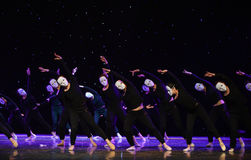 Surrender-The lonely dancer-Modern dance Stock Image