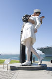 The Surrender. Monument in San Diego, California Stock Photo