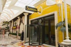 Surrender nightclub inside of the Encore Hotel in Las Vegas. Royalty Free Stock Images