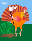 Surrendering Turkey Royalty Free Stock Image