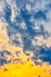 Surret är en himmelriddare Arkivfoton