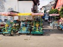 Surrey bikes for rent in Penang, Malaysia Stock Photos