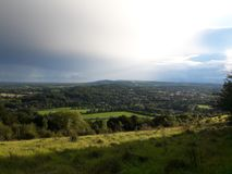 Surrey hills area of outstanding natural beauty 2 royalty free stock photos