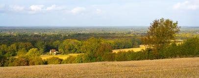 Surrey krajobraz Zdjęcia Stock