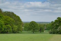 Surrey-Landschaft Stockbild