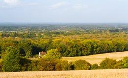 Surrey landskap Arkivbild