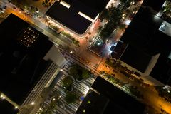 Surrfoto Lincoln Road Miami Beach Royaltyfri Bild