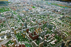 Surround plan of Beijing. Detailed surround plan layout of Beijing Stock Photography