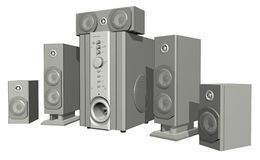 Surround System Stock Photos
