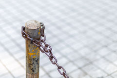 Surrounded by chain Stock Images