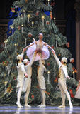 They surrounded by the Clara-Tableau 3-The Ballet  Nutcracker Royalty Free Stock Image