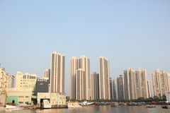 Surrounded by a gulf of the international community in SHEKOU SHENZHEN Royalty Free Stock Image