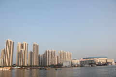 Surrounded by a gulf of the international community in SHEKOU SHENZHEN Stock Photos