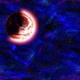 Surrounder éloigné de centrale par des étoiles illustration de vecteur