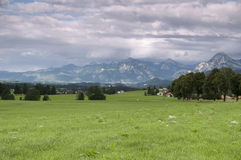 Surrounding area of Allgau Stock Photos