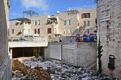 Surrounding city wall of Jerusalem Royalty Free Stock Photography