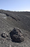 Surrounding the Crater Stock Photography
