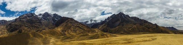 Peruvian Landscape, Ande Mountains, Peru stock images