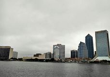Surrounding the Jacksonville Landing Stock Images