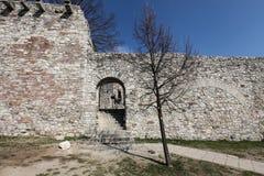 Surrounding wall of Buda CastleSurrounding wall of Buda Castle, Budapest, Hungary Stock Photos