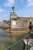 Surrounding wall - Concarneau - France Stock Image