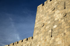Old Jerusalem City Wall Stock Photos