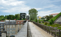 Surroundings of the Chateau de Pau Royalty Free Stock Photography