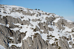 Surroundings of the French ski resort Pierre Saint Martin Stock Photo