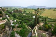Surroundings of Ronda in spring Royalty Free Stock Photo