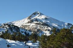 Surroundings of the ski resort Pierre Saint Martin Stock Photography