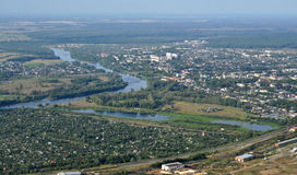 The surroundings of the town of Kovrov Stock Images