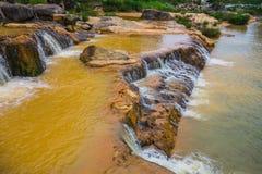 Surroundings Yang Bay waterfall in Vietnam Stock Photography