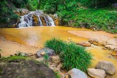 Surroundings Yang Bay waterfall in Vietnam Stock Photos