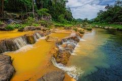 Surroundings Yang Bay waterfall in Vietnam Royalty Free Stock Photo