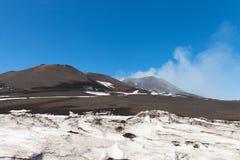 Surroundinngs del monte Etna, Sicilia foto de archivo
